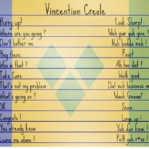 Vincy dialects